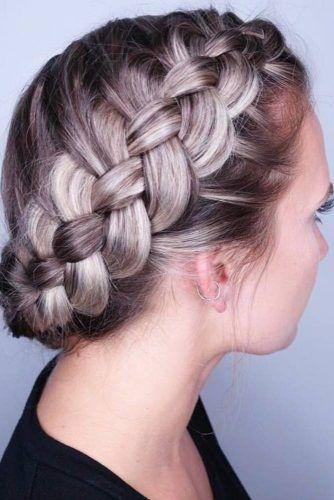 35 Cute Braided Hairstyles For Short Hair Lovehairstyles Com Braids For Short Hair Braided Hairstyles Cool Braid Hairstyles