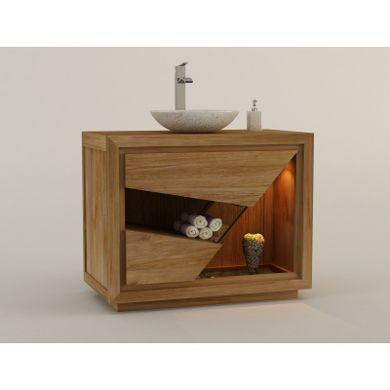 Meuble De Salle De Bain En Teck Pour 1 Vasque Siberut Meuble De Salle De Bain Meuble Salle De Bain Meubles En Teck