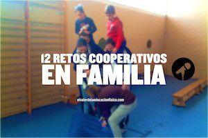 12 retos cooperativos en familia