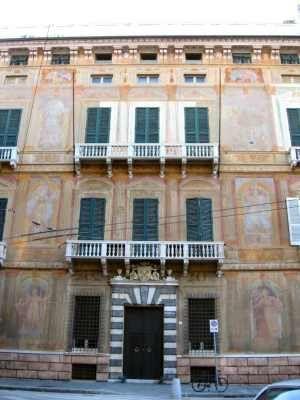 Palazzo Paolo Battista Nicolo Interiano Piazza Fontane Marose 2