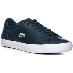 Lacoste Sneakerschuh Herren Glattleder Blau Lacoste In 2020 Sneaker Herren Schuhe Herren Und Lacoste