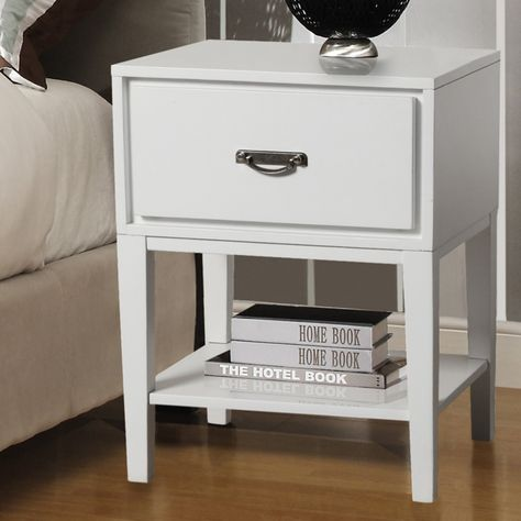 Weston Home 1 Drawer Rectangular Accent Table 564a161w 3a