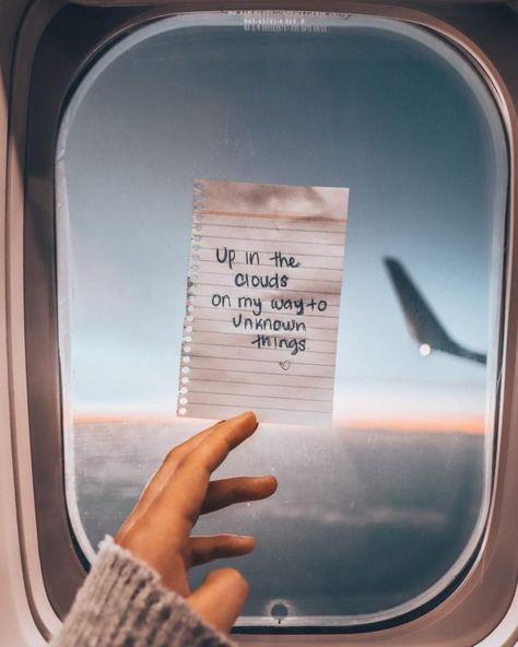 Fotos que puedes tomarte en un viaje largo en avión