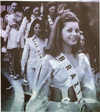 Resultado de imagem para miss universe 1969 vera fischer