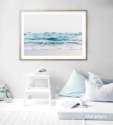 Beautiful Tropical Beach Canvas Print Tropical Wall Decor Ocean