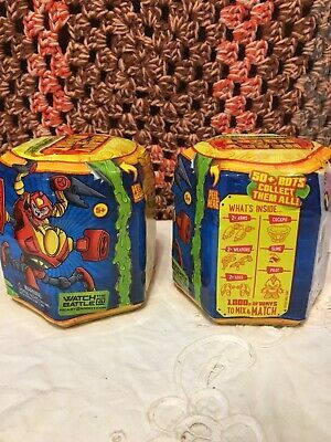 MGA Mystery Toy Battle Lot Of 2 Series 1 READY 2 ROBOT Build Swap