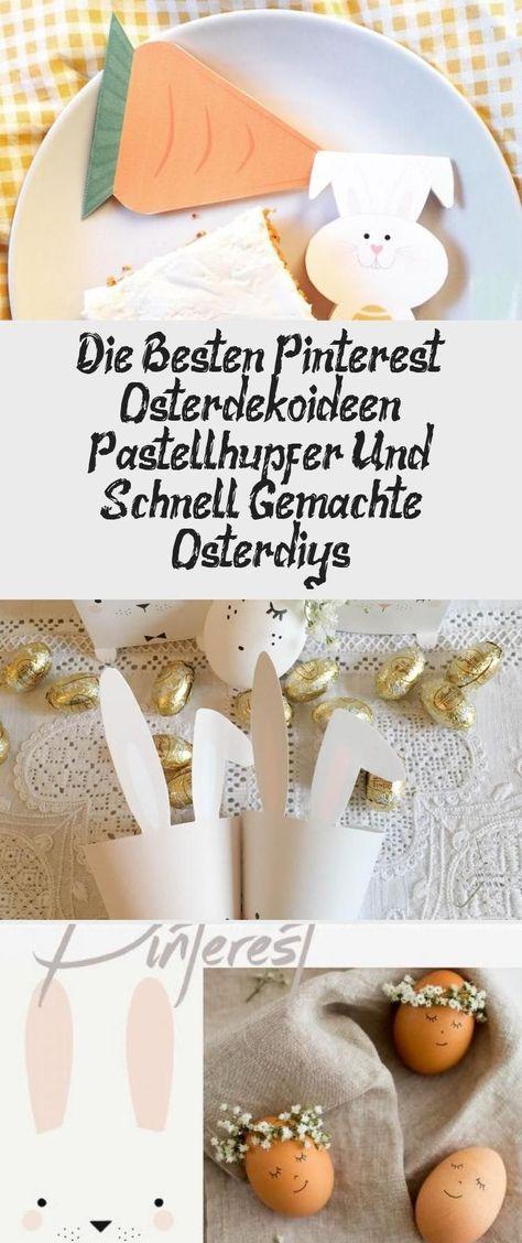 Photo of oster dekoration basteln