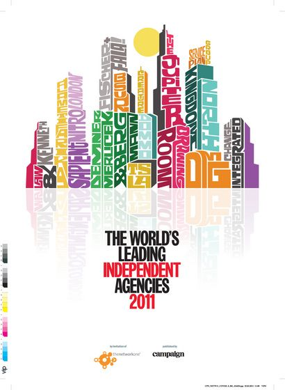Independent Agencies 2011 Cover / Campaign Magazine - Oscar Wilson - Debut Art