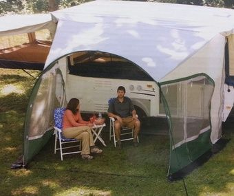 Dometic Cabana Lightweight Dome Awning 9 Foot 747grn09 000 Cabana Dome Awning Provides Shade For Your Pop Up Camper Easily Pop Up Screens Pop Up Awning Cabana