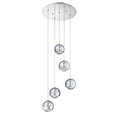 Orren Ellis Needs 5 Light Cluster Globe Pendant Wayfair 5light Cluster Ellis 5light Cluster Ellis Multi Light Pendant Globe Pendant Pendant Lighting