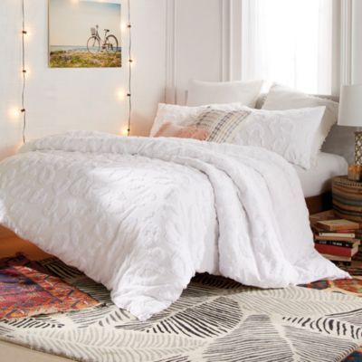 White Comforter Bedroom, White Bedding For Twin Bed