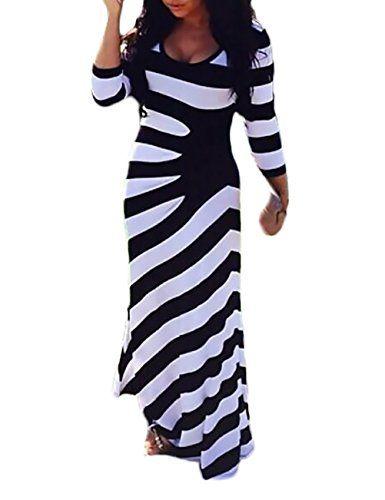 new product d10e3 bfed7 Vestiti Donna Eleganti Primavera Autunnale Oversize Abito ...