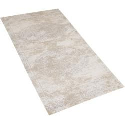 Teppich Beige 60 X 180 Cm Kurzflor Beykoz Belianibeliani In 2020 Teppich Beige Teppich Teppichmuster