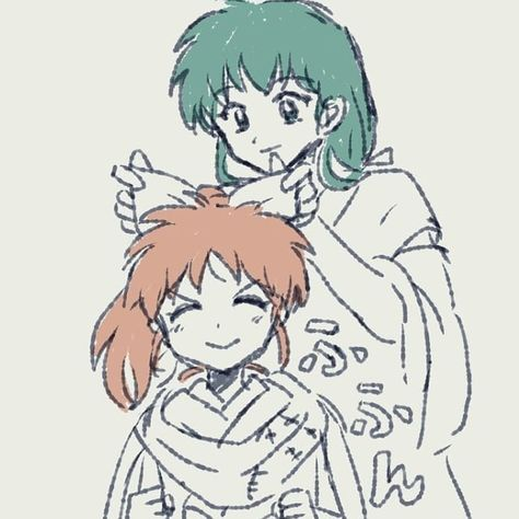 Inuyasha Fan Art, Kagome And Inuyasha, Loli Kawaii, Anime Kawaii, Rurouni Kenshin, Anime Nerd, Sword Art Online, Magical Girl, Me Me Me Anime