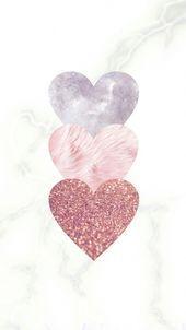 Herz Hintergrund 💕 #flowerswallpa ... - #DisneyWallpapersQuotes #flowerswallp ... -   #