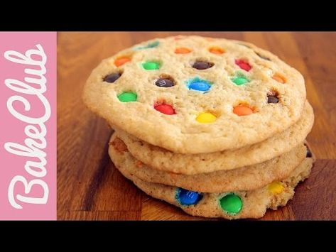 M&M's Cookies | BakeMyDay - YouTube
