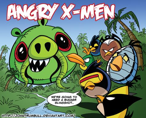 Angry X-Men