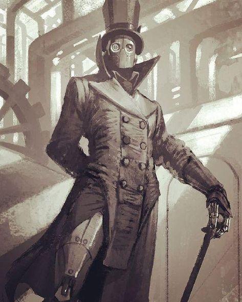 Fantasy Character Design, Character Design Inspiration, Character Concept, Character Art, Steampunk Characters, Robots Characters, Fantasy Characters, Steampunk Kunst, Steampunk Artwork