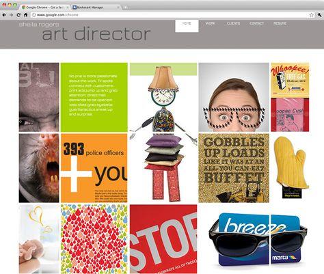 Sheila Rogers Art Director Inspiring Wix Websites