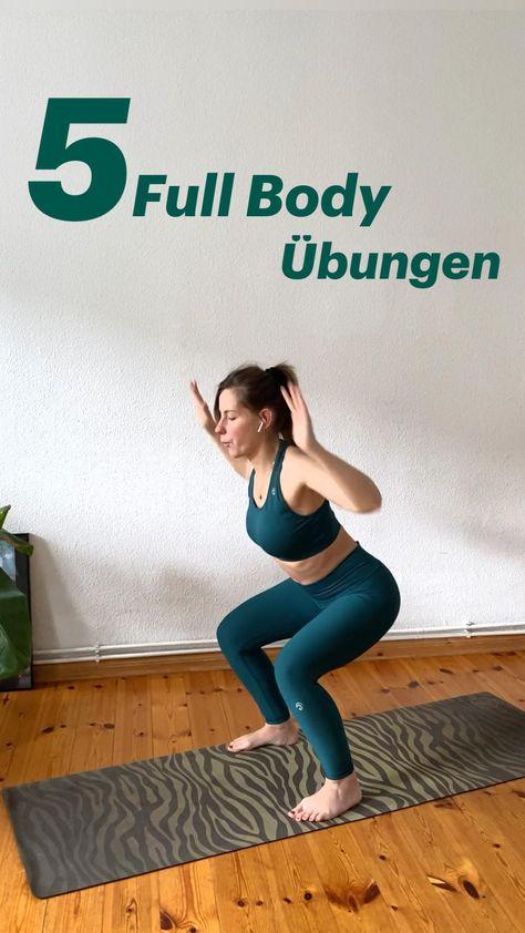 5 Full Body Übungen für Anfänger - das perfekte Workout für zu Hause