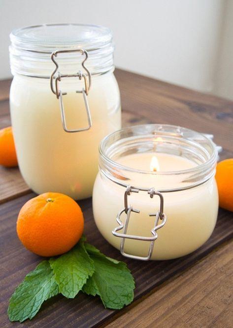 Nice Duftkerze Selber Machen Kerzen Giessen Mit Bildern