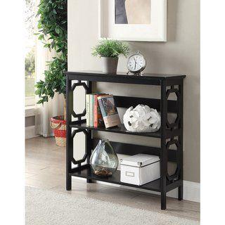 Copper Grove Hitchie 3 Tier Open Back Bookcase Grey Gray Etagere Bookcase Bookcase Furniture