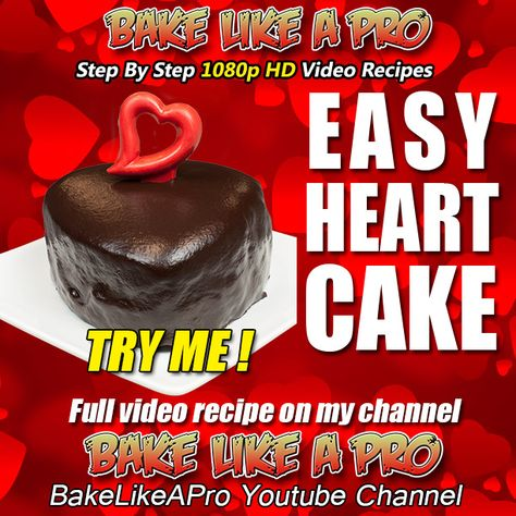 EASY HEART CAKE RECIPE ►►► CLICK PICTURE for video recipe