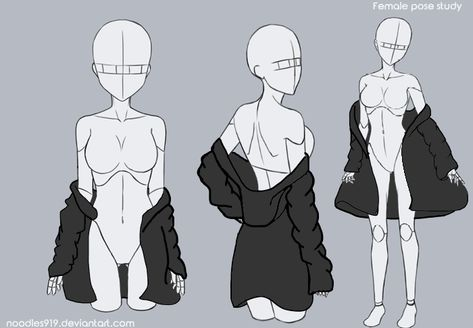 {MMD} Hoodie Request/Hoodie Reference by llQuietTearsll on DeviantArt Manga Drawing Tutorials, Art Tutorials, Painting Tutorials, Drawing Tips, Art Drawings Sketches, Cute Drawings, Anime Poses Reference, Hand Reference, Female Pose Reference