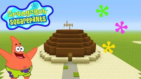Minecraft Tutorial How To Make Patricks House Spongebob