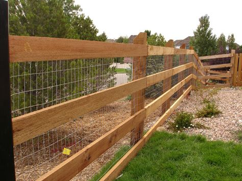 wood rail fence - Google Search | Gardens | Pinterest