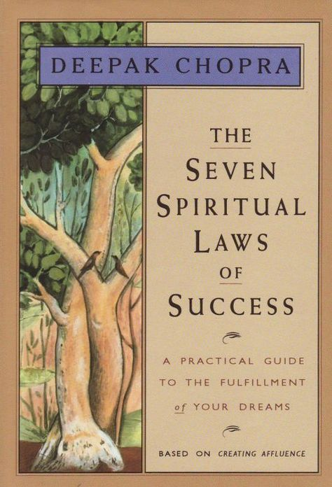 11 Self-Help Books for an Enlightened Outlook: Deepak Chopra is a wealth of spiritual inspiration—but the author helps us to envoke success in all areas of life with seven laws: pure potenti Book Club Books, Book Lists, Good Books, Books To Read, My Books, Karma, Best Self Help Books, Life Changing Books, Spirituality Books