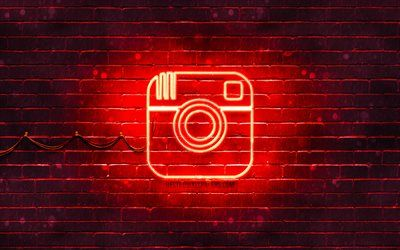 Download Wallpapers Instagram Red Logo 4k Red Brickwall Instagram Logo Brands Instagram Neon Logo Instagram Besthqwallpapers Com In 2020 Instagram Logo Wallpaper Iphone Neon Neon Logo