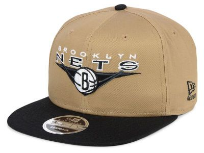 2375d50a901de Brooklyn Nets New Era NBA Jack Knife 9FIFTY Snapback Cap