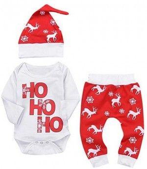 """/""""mein erstes Weihnachten/"""" Neugeborenes Baby Mädchen Romper Körperanzug Outfits"""