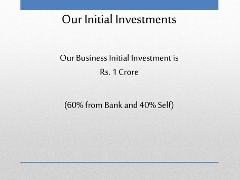 50 lakhs investment business in india