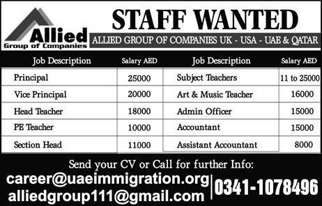 Title Details 1 Jobs Location Pakistan 2 Government / Private - staff accountant job description