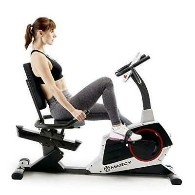 Marcy Regenerating Recumbent Exercise Bike With Adjustable Seat Pulse Monitor In 2020 Recumbent Bike Workout Biking Workout Exercise Bikes