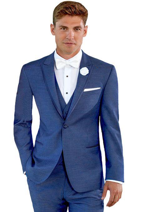 Ike Behar Dusk Blue Lane Tuxedo Fashionable Navy Tuxedo President Tuxedo Blue Tuxedo Wedding Blue Tuxedos Blue Suit Wedding