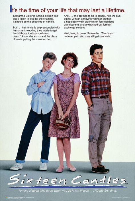 Sixteen Candles - One Sheet - Movie Poster