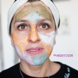 maschera viso just