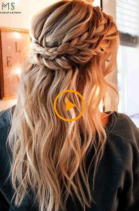 20 Lindos Peinados Simples Para Cabello Largo Coiffures Simples Images Coiffure Coiffure