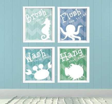 31 Trendy Bath Room Colors Green Beach Themes Sea Bathroom Sea Bathroom Decor Bathroom Kids