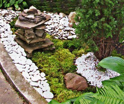 Японский сад камней фото Дача своими руками