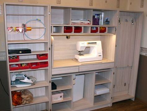 58 ideas for sewing machine storage cabinet ideas
