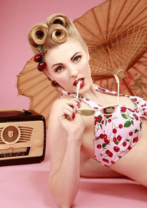 I so wish I could rock this cherry bikini!!! Love love love!!
