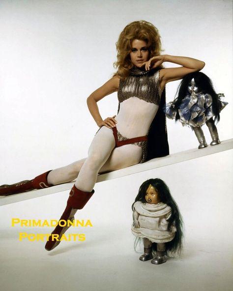 JANE FONDA 8X10 Lab Glamour Photo COLOR SEXY 1968