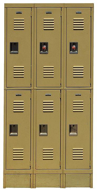 A Set Of 6 William McKinley High School Hallway Lockers Used Throughout The  Television Series U0027Gleeu0027. | Icons U0026 Legends | Pinterest | Lockers