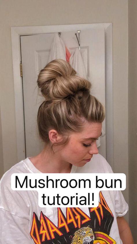 Mushroom bun  tutorial!