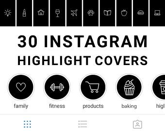 76 Instagram Story Highlight Icons Black Icons Word Etsy Black And White Instagram Instagram Highlight Icons Instagram Story