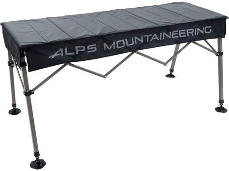 Alps Mountaineering Dining Table Folds Down To 43 X 7 5 X 5 Inches